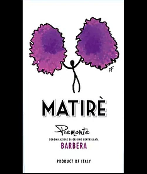 Matirè Barbera Piemonte doc
